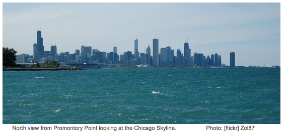 Chicago-Skyline-the-point