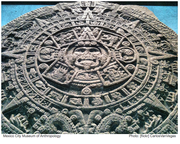 2012 According to the Ancient Mayans