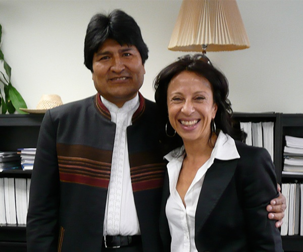 A Conversation with Bolivia's President Evo Morales
