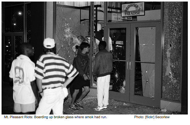 20 Years After the Mt. Pleasant Riots