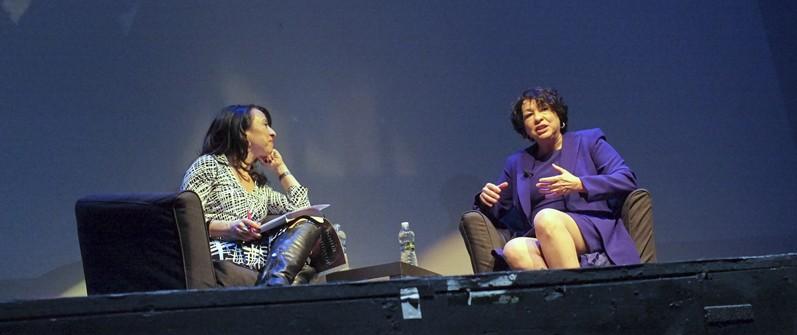 Maria Hinojosa Interviews Sonia Sotomayor 3