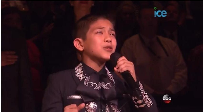 Sebastien De La Cruz Singing