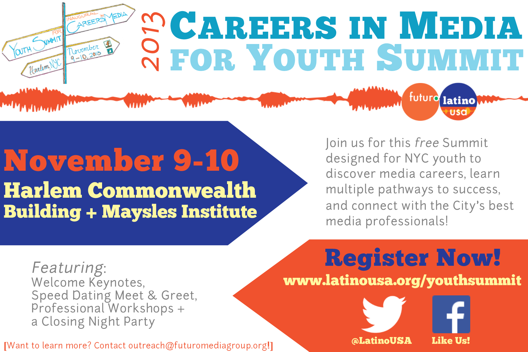 Careers in Media for Youth Summit