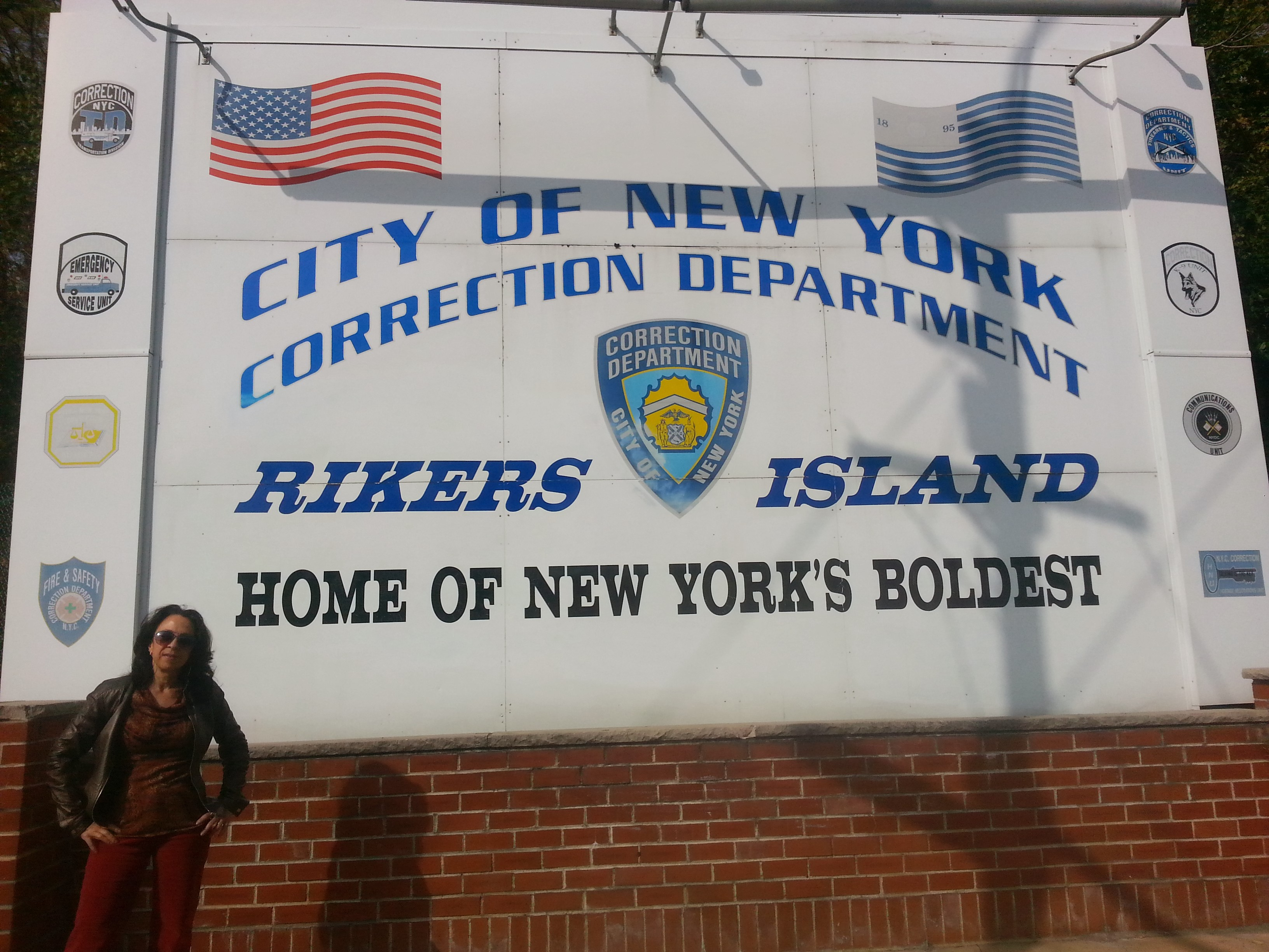 Going to Rikers Island