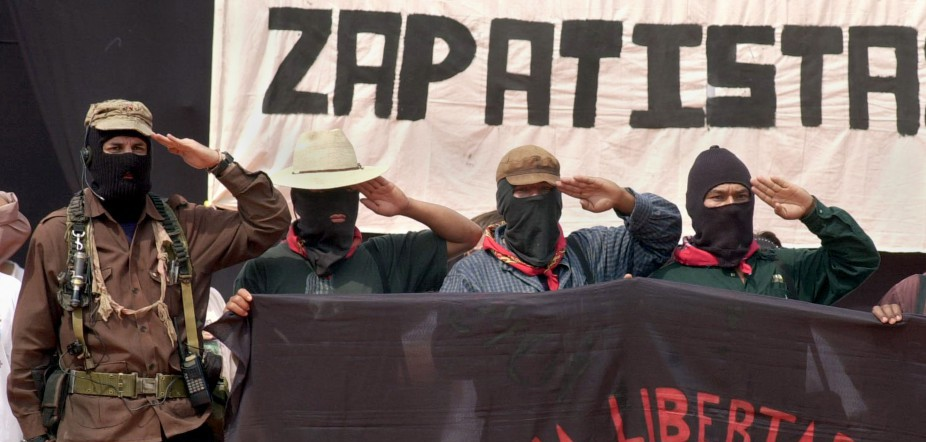 Mexican Zapatista Rebels Begin Protest March