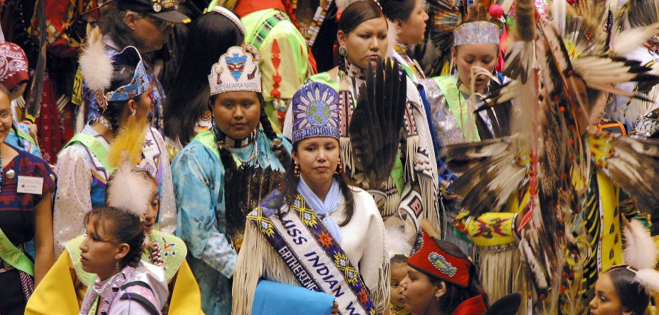 Gathering Of Nations Powow Held In Albuquerque