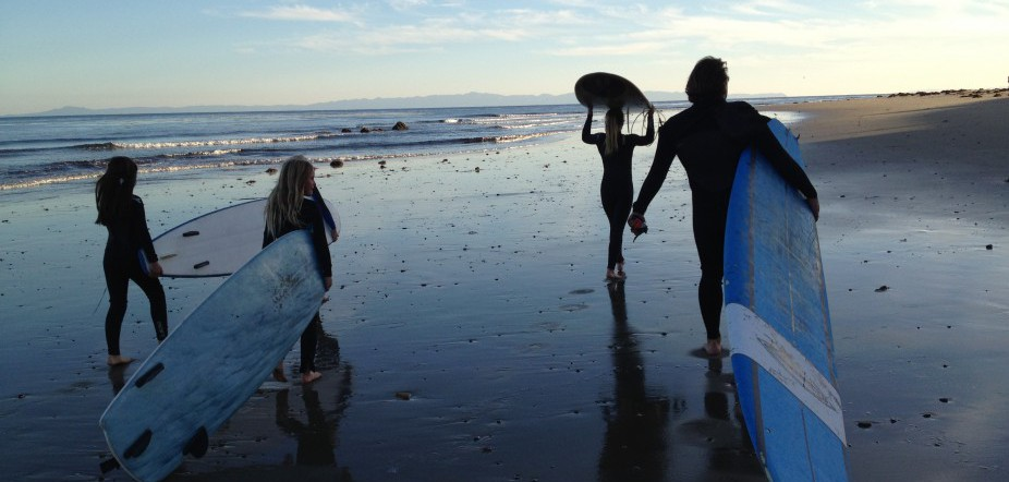 California Surfer Teaches Kids To Ride With Soul