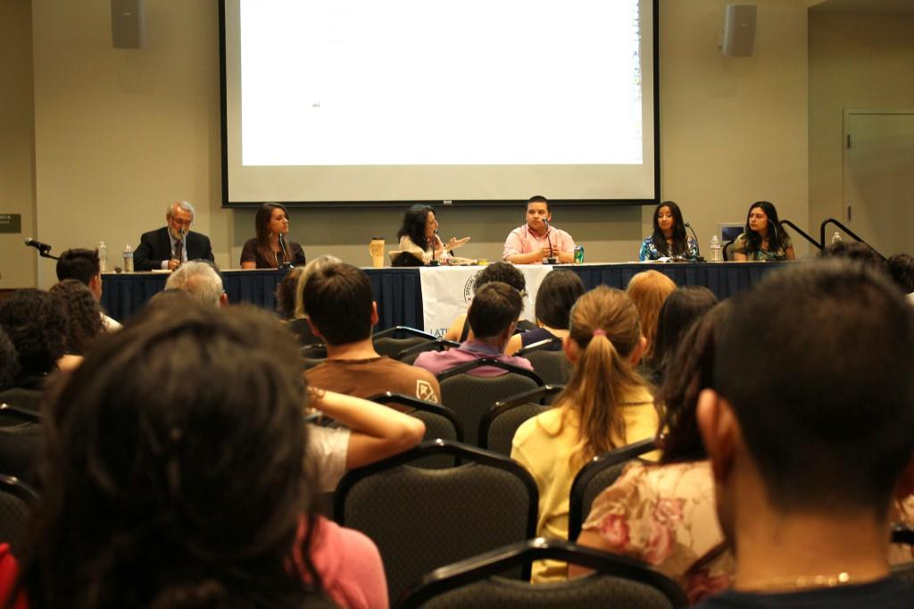 L-R: Dr. Sergio Aguilar-Gaxiola, Nicole Plata, Maria Hinojosa, Nikko Gabriel Reynoso, Lina Mendez, Claudia Mendez