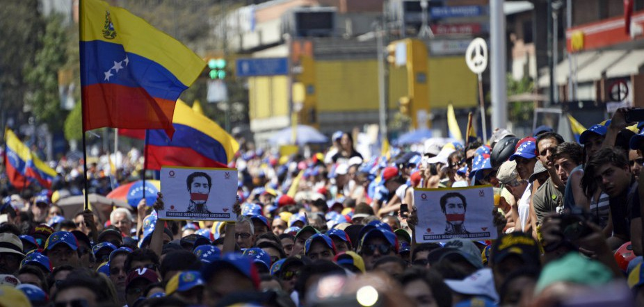 Venezuela Commemorates Chavez With Protests