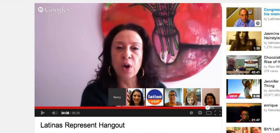 Our #LatinasRepresent Google Hangout