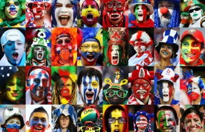 World Cup Brazil 2014 - Fans Of 32 Nations