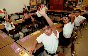 Monolingual Hispanic Students Learn English