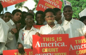Miami Students Protest Recount