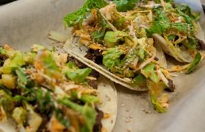 Korean Tacos @ Del Seoul