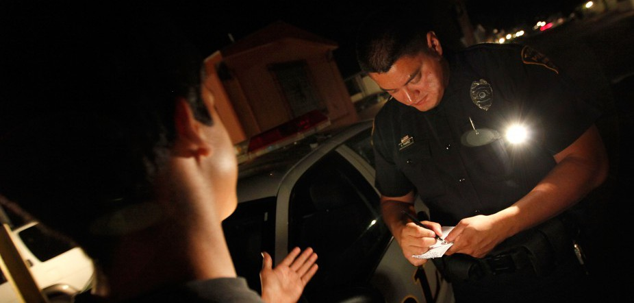 How do Latino police feel about community relations?