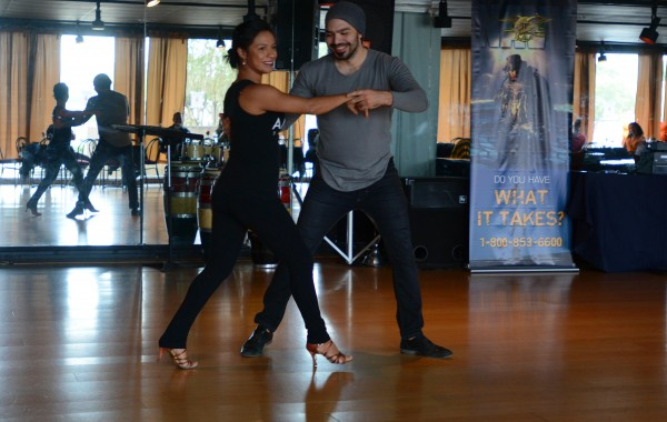 Navy, Amaya Dance Raise Awareness Through Salsa