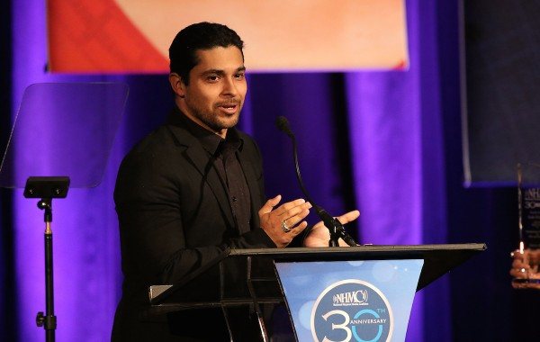 BEVERLY HILLS, CA - FEBRUARY 26:  Actor Wilmer Valderrama onstage during the 19th Annual National Hispanic Media Coalition Impact Awards Gala at Regent Beverly Wilshire Hotel on February 26, 2016 in Beverly Hills, California.  (Photo by JC Olivera/Getty Images for National Hispanic Media Coalition)