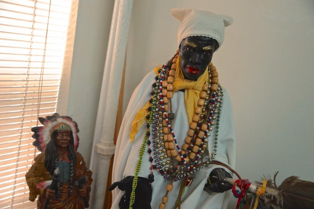 Jorge's altar (CREDIT: Andrew J. Padilla)