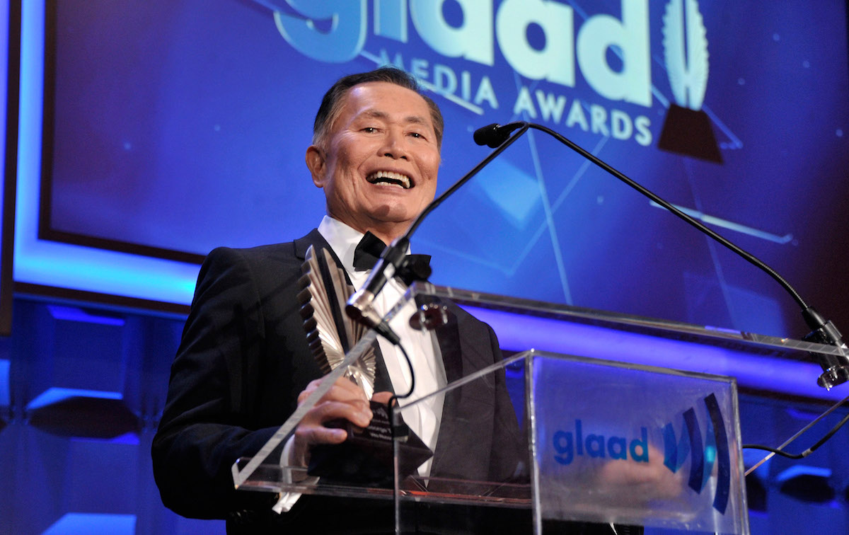 NEW YORK, NY - MAY 03: George Takei attends the 25th Annual GLAAD Media Awards on May 3, 2014 in New York City.  (Photo by Stephen Lovekin/Getty Images for GLAAD)