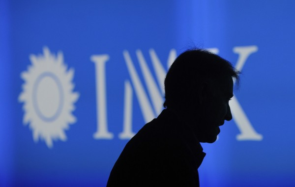 Brazilian businessman Eike Batista arrives to announce the creation of IMX, a joint venture with IMG Worldwide marketing sport agency, on December 9, 2011 in Rio de Janeiro, Brazil.  AFP PHOTO/ANTONIO SCORZA (Photo credit should read ANTONIO SCORZA/AFP/Getty Images)