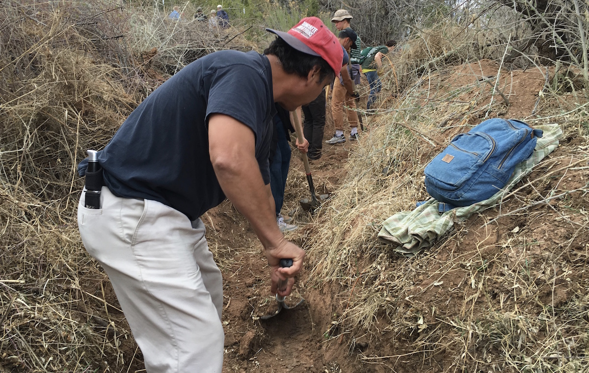 Image result for image of digging a ditch