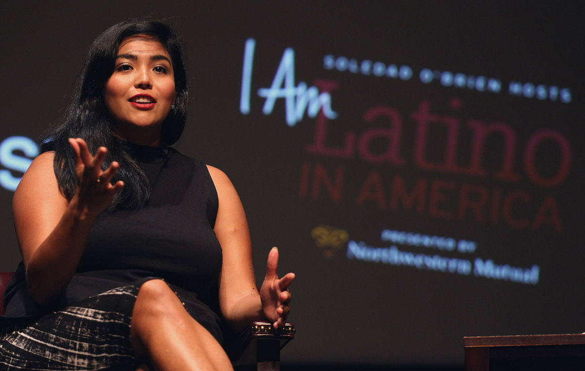 LOS ANGELES, CA - OCTOBER 15:  Immigration rights advocate Julissa Arce attends the Latino In America held at Occidental College on October 15, 2015 in Los Angeles, California.  (Photo by Tommaso Boddi/Getty Images for INGENUITY)