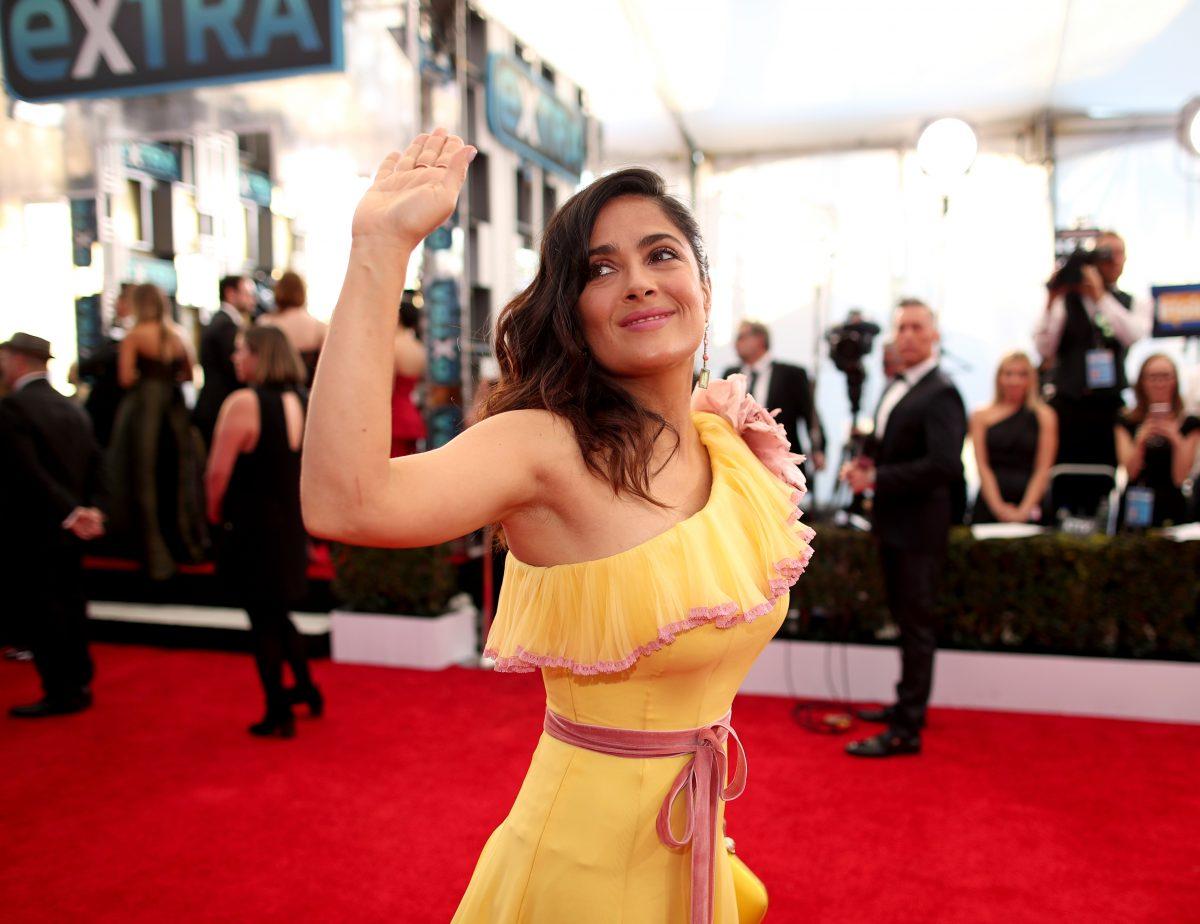 Salma Hayek At Sag Awards Latinos Should Have Been More