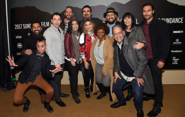 """PARK CITY, UT - JANUARY 23:  The cast and crew attend the """"GENTE-FIED"""" Premiere at Egyptian Theatre on January 23, 2017 in Park City, Utah.  (Photo by Matt Winkelmeyer/Getty Images for Sundance Film Festival)"""