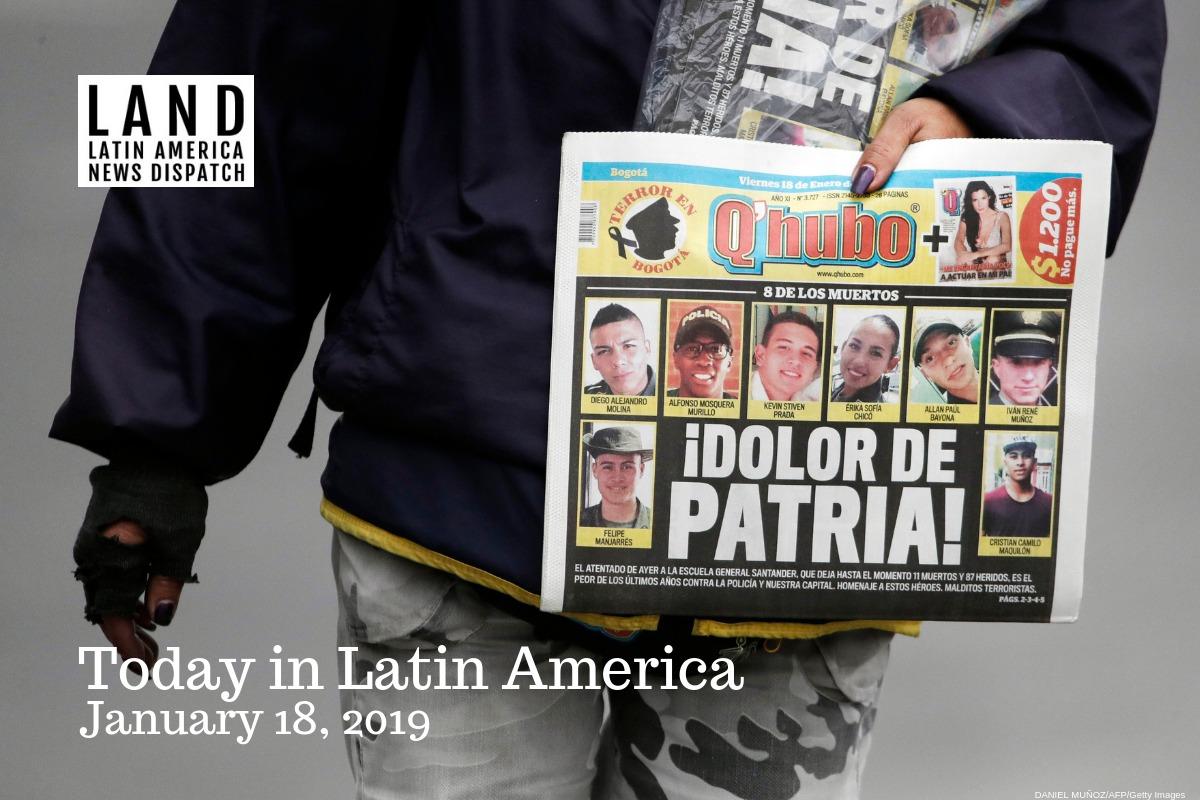 Car Bomb Kills at Least 21 in Bogotá